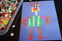 mosaic art with the kids // find joy in the journey