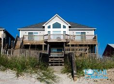 Vacation Rental Topsail Beach-N. Anderson Area Oceanfront | ALL DECKED OUT