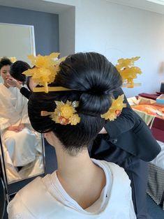 Updo Styles, Long Hair Styles, Traditional Hairstyle, Japan Fashion, Korea Fashion, India Fashion, Japanese Hairstyle, Photo Makeup, Korean Street Fashion