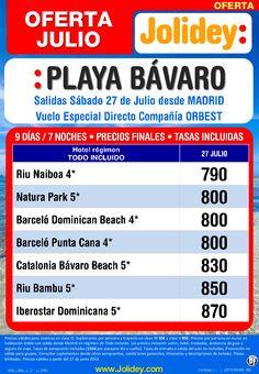Playa Bávaro desde 790€ Tax incl.Oferta Julio 7 Noches.Salida 27 de Julio desde Mad - http://zocotours.com/playa-bavaro-desde-790e-tax-incl-oferta-julio-7-noches-salida-27-de-julio-desde-mad/