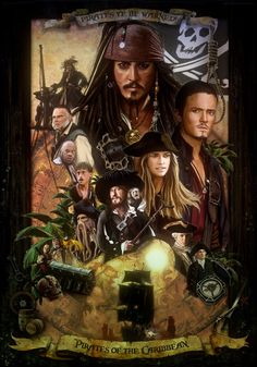 Pirates of the Caribbean by amiramz.deviantart.com