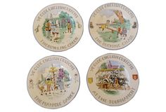 Staffordshire English Custom Plates, S/9