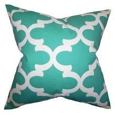 """Golda 20"""" Pillow in Jade"""