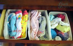Organize Kids Sock Drawers