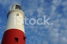 Portland Bill Lighthouse in Dorset England. royalty-free stock photo