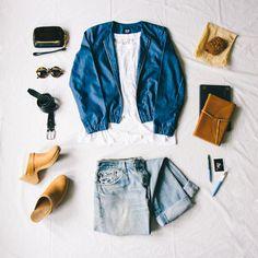 casual layered style jojotastic.com // @gap #styldby