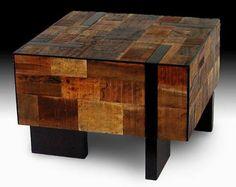Rustic Contemporary Furniture, Slab Wood Table, Bedroom Cabinet Desk Bar Stools
