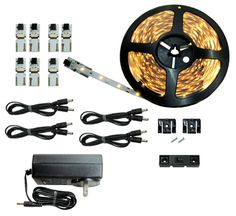 Cut and Connect Series Kit | Normal Bright | 3000K Warm White | 40ft/ 12M | Inspired LED | Kitchen Lighting | Cove Lighting | Dimmable -- Quickly view this special  product, click the image : home diy lighting