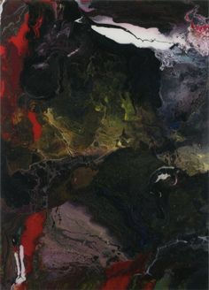 Gerhard Richter | Perizade 2010 56.7 cm x 40.8 cm Catalogue Raisonné: 916-2 Enamel on back of glass mounted on Alu Dibond