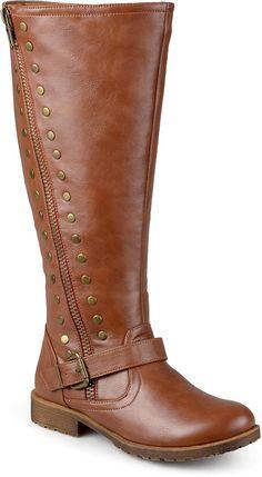 de87880ac8 Journee Collection Women s Studded Zipper Riding Boots     Very nice of  your presence to. Bojové BotyObuvKozačky