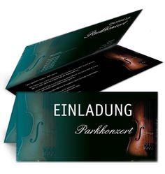 Einladung in Türkis von www.onlineprintxxl.com #musikfest #musikfesteinladung #partyeinladung