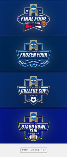 NCAA® and Joe Bosack & Co. Announce New Championships Logo System