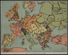 Карта 1915 г.