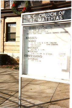St. Matthias Church (Built by German Immigrants) Ridgewood/Glendale, NY
