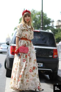 On the Street....Red Delight