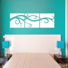 Style and Apply Vine Panels Wall Decal / Sticker Mural Art