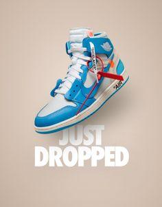 49f8d1f3aec8 OFF WHITE x Nike Air Jordan 1 UNC