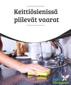 Keittiösienissä piilevät vaarat   Estääksesi bakteerien #kasvamisen jaleviämisen, sinun tulisi desinfioida #keittiösienesi, rättisi jateräsvillat #säännöllisesti.  #Mielenkiintoistatietoa