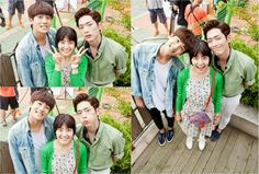 "Park HyungSik and Seo Kang Joon on ""What's With This Family"""
