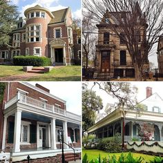 America's Most Haunted Houses - if you live by one of these, be sure to stop by around Halloween. Boo!