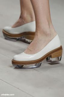 White Accessories For Spring Summer 2013