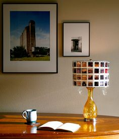 Custom Lampshade from Vintage Photo Slides von RachelReynoldsDesign
