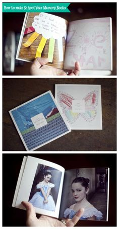 How to Make School Year Memory Books - AWESOME idea!