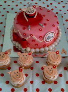 Olivia the Pig Bday cake