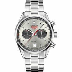 http://www.horloger-paris.com/fr/407-tag-heuer-carrera  TAG Heuer Carrera Calibre 17 Chronographe Automatique Jack Heuer : CV2119.BA0722