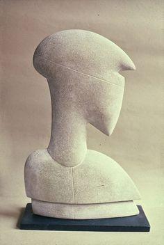 "Antoine de Vlinck (Belgium, 1924- France 1992), Puisaye sandstone. 1980. From the series ""Atlantes."""