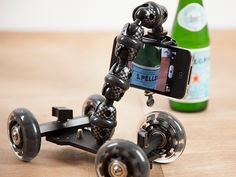 iStabilizer Dolly, A Small Portable Camera Dolly for Shooting Steady Panning & Tracking Shots