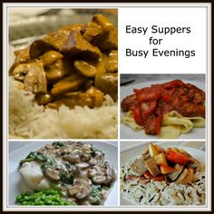 Easy Suppers for Busy Evenings