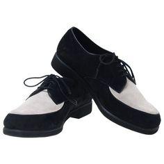 Mens GB Black Suede Loafers Pop Dance Dress Shoes Sz 9 Premium Hand Made | eBay