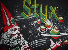 Vintage Styx Man of MIracles Tour T-Shirt 1974 S