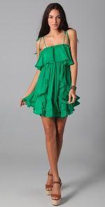 lovely green ruffles!