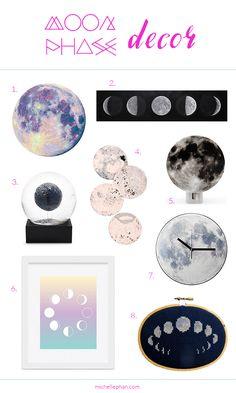 Moon Phase Home Decor | MichellePhan.com – Michelle Phan