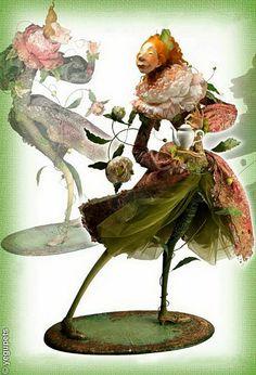 Тру-ля-ля и сундуки с мечтами... Авторская кукла Ольги Егупец