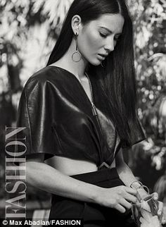 Olivia Munn poses for FASHION Magazine cover shoot by photographer Max Abadian | Daily Mail Online