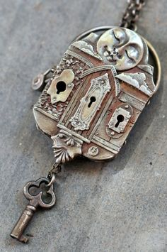 The Journey of Life Locket by cassioppea on Etsy, $650.00