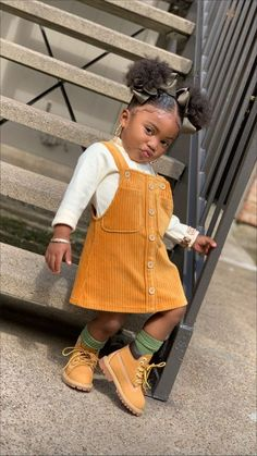 Cute Mixed Babies, Cute Black Babies, Black Baby Girls, Cute Little Girls Outfits, Kids Outfits Girls, Toddler Girl Outfits, Toddler Girl Style, Fashion Kids, Baby Girl Fashion
