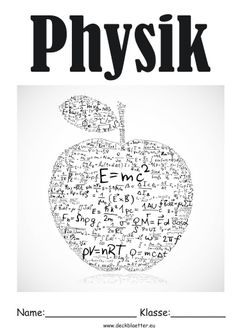 Deckblatt Physik Zentangles Doodles Physi