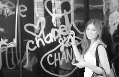 Chanel, NYC - Digital Graffiti Wall | Tangible Interaction
