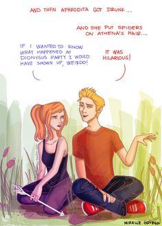 Artemis and Apolo xD