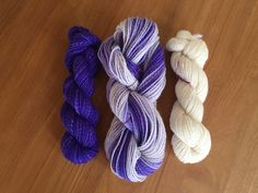 Your place to buy and sell all things handmade Violet Ombre, Ombre Yarn, Sport Weight Yarn, Weaving Projects, Shawl Patterns, Little Flowers, 2 Ply, Pretty Little, My Etsy Shop