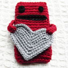 crochet cell phone cover      ♪ ♪ ... #inspiration_crochet #diy GB
