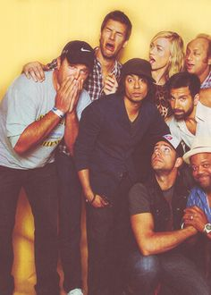 Chuck-possibly the greatest cast ever