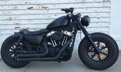 custom Harley Davidson sportster forty eight