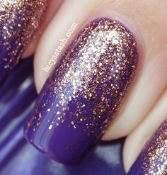 Lucy's Stash - SpaRitual Gradient manicure with Illume, Knowledge and Clarity, tutorial on YouTube