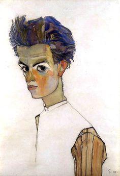 Egon Schiele Self-Portraits