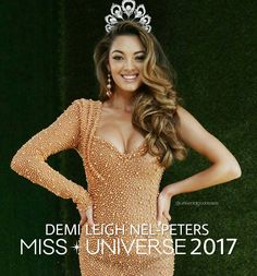 "ถูกใจ 3,587 คน, ความคิดเห็น 15 รายการ - Universal Goddesses (@universalgoddesses) บน Instagram: ""Congratulations Miss Universe South Africa, DEMI LEIGH NEL-PETERS. Our new Miss Universe 2017. Good…"""